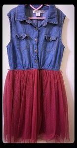 Knitworks size 10 girls dress EUC